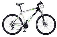 """горный велосипед Author Impulse II 26 2014 год (21"""", белый-зеленый-черный)"""