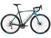 """шоссейный велосипед Bergamont 28"""" Prime CX Team 2016 (52 см, черный-бирюзовый)"""