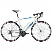 """шоссейный велосипед Bergamont 28"""" Prime 4.0 2016 (56 см, белый-голубой-красный)"""
