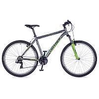 """горный велосипед Author Profile 27.5 2016 год (21"""", серый-зеленый)"""