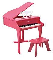 Розовое фортепиано со стульчиком HAPE, E0319