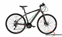 """кроссовый велосипед Comanche Maxima Cross 28 (20"""", серый)"""