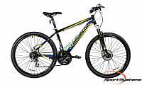 """горный велосипед Comanche Niagara Comp 26 (17"""", черный-желтый-синий)"""