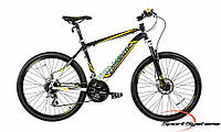 """горный велосипед Comanche Niagara Comp 26 (20,5"""", черный-белый-желтый)"""