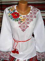 Вишиванка жіноча, ручна робота (модель 21)