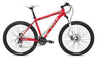 """горный велосипед Fuji NEVADA 27,5 1.6 (21"""", красный-белый)"""