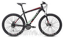 """горный велосипед Fuji NEVADA 27,5 1.4 (19"""", черный-красный)"""
