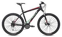 """горный велосипед Fuji NEVADA 27,5 1.4 (21"""", черный-красный)"""