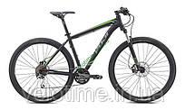 """горный велосипед Fuji NEVADA 29 1.4 (17"""", черный-зеленый)"""