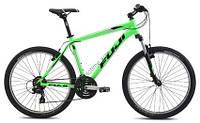 """горный велосипед Fuji Nevada 1.9 26 (21"""", зеленый)"""