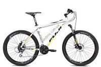 """горный велосипед Fuji Nevada 26"""" 1.7 (23"""", черный матовый-оранжевый)"""