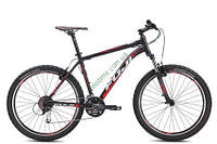 """горный велосипед Fuji Nevada 26"""" 1.5 V (23"""", черный матовый-красный)"""
