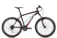 """горный велосипед Fuji Nevada 26"""" 1.5 V (19"""", черный матовый-красный)"""