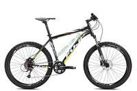 """горный велосипед Fuji Nevada 26"""" 1.3 D (21"""", черный-желтый)"""