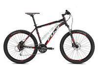 """горный велосипед Fuji Nevada 26"""" 1.5 D (23"""", черный матовый-красный)"""