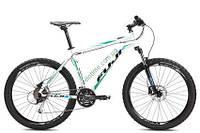 """горный велосипед Fuji Nevada 26"""" 1.5 D (23"""", белый-зеленый)"""