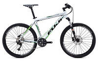 """горный велосипед Fuji Tahoe 26"""" 1.5 (21"""", белый-зеленый)"""
