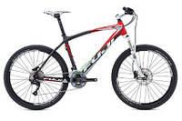 """горный велосипед Fuji SLM 26"""" 1.5 (19"""", матовый-карбоновый-красный)"""