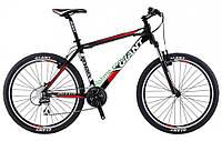 горный велосипед Giant Rincon 26 2014 (L, черный-красный)