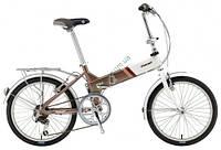 складной велосипед Giant FD 806 20 2014 (белый-коричневый)