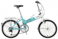 складной велосипед Giant FD 806 20 2014 (белый-синий)