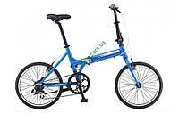 складной велосипед Giant ExpressWay 2 20 2014 (синий-белый-серый)