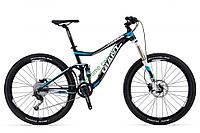 горный велосипед Giant Trance 27.5 4 2014 (XL, черный-синий-белый)