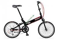 складной велосипед Giant Halfway 2014 (черный)