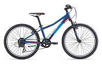 подростковый велосипед Giant XTC Jr 2 24 2016 (синий)