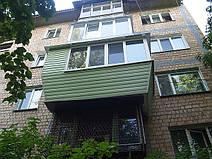 Балкон в хрущевке — вынос по полу