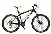 горный велосипед Giant Rincon Disc 26 2015 (XS, матовый черный-зеленый)
