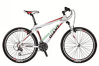 горный велосипед Giant Rincon 26 2015 (M, матовый белый-красный)