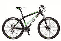 горный велосипед Giant Rincon Disc 26 2015 (L, матовый черный-зеленый)