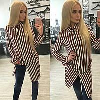 Женская блуза рубашка Р 1216