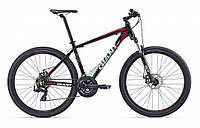 горный велосипед Giant ATX 27.5 2 2016 (L, черный-красный)