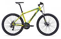 горный велосипед Giant ATX 27.5 2 2016 (L, желтый)
