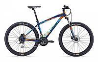 горный велосипед Giant Talon 27.5 4 2016 (M, темный синий)
