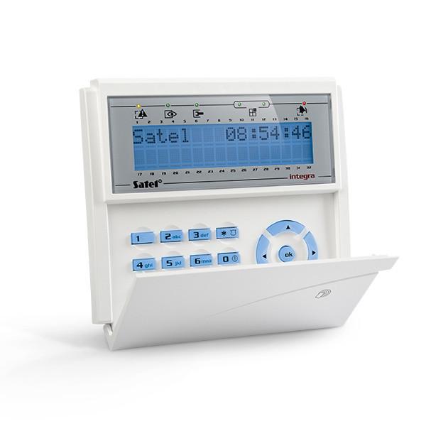 Кодовая клавиатура INT-KLCDR-BL для постановки и снятия с охраны