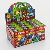 Конструктор Ninja 79157 Герои Ninja. Набор из 12шт. Для детского садика
