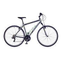 """кроссовый велосипед Author Compact 28"""" 2016 год (18"""", серый-зеленый)"""