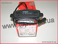 Тормозные колодки задние (однокатковые) Renault Master III 2.3DCI 10- TRW Германия GDB1903
