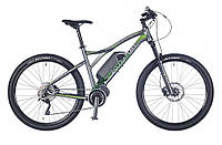 "электро велосипед Author Elevation 27,5"" 2016 год (17"", серый-зеленый)"