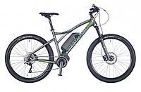 "электро велосипед Author Elevation 27,5"" 2016 год (19"", серый-зеленый)"