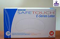 Перчатки смотровые латексные с пудрой нестерильные TM Medicom