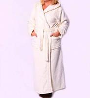Длинный женский халат с махры недорого от производителя
