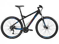 горный велосипед Bergamont Roxtar 3.0 2016 год (47 см, черный-голубой)