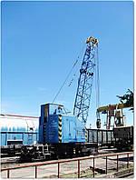 Железнодорожный кран ЕДК-80/3 №965 1989 г.в.