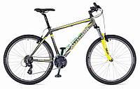"горный велосипед Author Rival 27,5"" 2015 год (19"", серый-желтый)"
