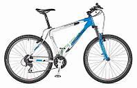 """горный велосипед Author Solution 26"""" 2014 год (21"""", белый-черный-синий)"""
