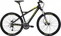горный велосипед Bergamont Roxtar 4.0 FMN 2015 год (38 см, черный-зеленый-желтый)